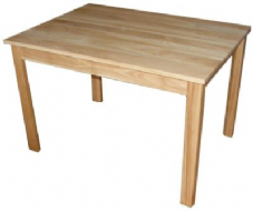 Solid Handmade Oak Dining Table